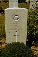 T.F. Houldsworth, Royal Air Force, War Grave, 1941, Bayeux (PaulHP) Tags: ww2 world war 2 headstone grave france bayeux military cemetery british normandy am669 hudson sergeant pilot tom ford tf houldson service number 1000126 24th december 1941 224 sqdn squadron raf rafvr royal air force volunteer reserve kate maltby yorkshire cwgc battle