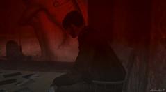 Lost (larisalyn (Rachel)) Tags: lost depressed sad blood crimescene secondlife photos glasses man