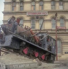 SP HQ (BunnySafari) Tags: omaru steampunkhq january newzealand yashicamat124g 2018 film steampunkcapital