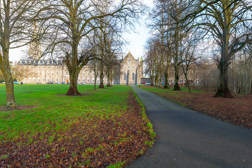TODAY I VISITED ST. PATRICK'S COLLEGE IN MAYNOOTH [THE NATIONAL SEMINARY OF IRELAND]-147790