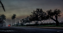 strasse (Heinertowner) Tags: strase street promenade strand playa de palma mallorca nebel fog seifenblasen bubbles