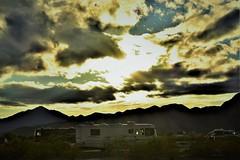 Dry camping (thomasgorman1) Tags: clouds cloudy desert quartzsite az arizona camping motorhome nikon sunlight sun drycamping
