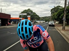 Pink and blue (lukemarkof) Tags: style happy depth bicycle bike challenging interest custom fun cycle built australia radelaide holiday funky shadow cycling classic play travel tdu black adelaide tourdownunder teamyoungmarkof exposure special bikerace exotic dark view
