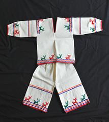 Huichol Shirt Pants Jalisco Mexico (Teyacapan) Tags: mexican traje clothing shirt camisa pantalones pants huichol jalisco