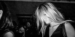 Windswept and interesting. (Baz 120) Tags: candid candidstreet candidportrait city contrast street streetphotography streetphoto streetportrait strangers rome roma europe women monochrome monotone mono noiretblanc bw blackandwhite urban life portrait people italy italia olympus grittystreetphotography faces decisivemoment