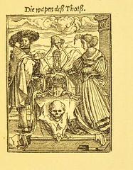 This image is taken from Page 97 of Der Todtentanz von H. Holbein, nach dem Exemplare der ersten Ausgabe im Kgl. Kupferstich-Cabinet zu Berlin in Lichtdruck nachgebildet (Medical Heritage Library, Inc.) Tags: dance death rcplondon ukmhl medicalheritagelibrary europeanlibraries date1879 idb22651263