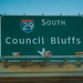 Council Bluffs, Iowa - Interstate 29 South