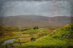 Rannoch Moor: Memory of Loss (Colormaniac too - Many thanks for your visits!) Tags: rannochmoor croft abandonedcroft abandoned scotland travel landscape digitalpainting highlands topazstudio topazimpression netartll hss