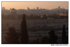Dusk (Kurokami) Tags: jerusalem israel holy land pilgrim pilgrimage footsteps jesus christ christian religious religion spiritual israeli village history church mount olives dominus flevit skyline