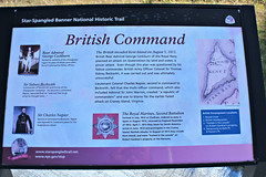 (Throwingbull) Tags: eastern shore md maryland rural battle slippery hill war history historic 1813 1812 british invade kent island sign star spangled banner trail
