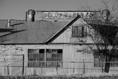 Bell Rubber Co (Gene Ellison) Tags: building metal abandoned tire recapper old sign vent turbines windows door blackwhitephotos bw