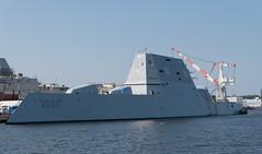 USS Monsoor (jamie_okeefe) Tags: bath maine iron works harbor uss monsoor zumwaltclass destroyer