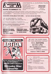 Barnsley vs Blackburn Rovers - 1983 - Page 31 (The Sky Strikers) Tags: barnsley blackburn rovers oakwell review football league division two the official match day magazine 35p