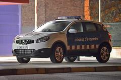 Mossos d'Esquadra (bleulights) Tags: mossos desquadra policia police polizia polizei policía rendőrség 警察 polisie polici شرطة polis полиция poliisi policija seguretat ciutadana seguridad ciudadana public safety straz miejska cme 6373 nissan qashqai