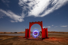 Portal (J C Mills Photography) Tags: morocco maroc lightpainting longexposure abandoned
