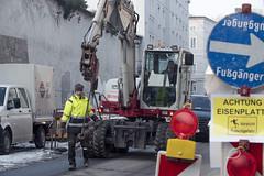 2018_03_01_arne-mueseler_07_57_00086 (SPÖ Salzburg) Tags: 2018 arbeiter bagger bauarbeiter baumaschine baustelle landsalzburg parislodronstrase salzburg stadtsalzburg österreich austria aut