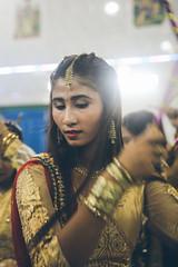 Durga Puja Hindu Festival, Sittwe, Myanmar (Etienne Gab) Tags: myanmar burma birmanie asia religion hindu buddhist buddhism hinduism temple sree sittwe rakhine arakan dance celebration festival durga puja durgapuja sari asie hindous hindouisme canon 5d markiii bouddhisme durgā pūjā dourgâ navaratri