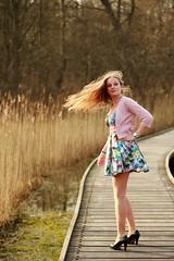 0059 (boeddhaken) Tags: longhair blond dreamwoman beautifulwoman woman sexywoman cutegirl lovelygirl dreamgirl beautifulgirl girl sexygirl hetzwin zwin nature natureparc tree bridge longbridge laydown