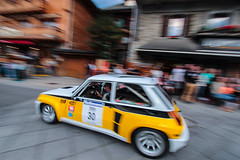 Turbo ! (NaPCo74) Tags: renault sport r5 5 turbo 2 ii jaune ragnotti france french large chatel montée montee historique 2018 rallye rally canon eos 700d