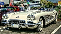Corvette C1 (baer99) Tags: baujahr1960 230ps oldtimer automobil auto car kabriolett convertible corvette dmcfz30 ft lumix hdr c1
