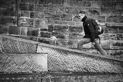 In Eile (Deinert-Photography) Tags: mann cityschlachte streetfotografie deutschland flickr street schwarzweiss fujifilm23mmf14 schwarzweis bremen blackwhite deinert fujifilmxt3 fusgänger citylife fuji hb hansestadt man streetart streetphoto streetphotography ubanphotography urban xt3