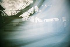 Galerie im Kies (Markus Moning) Tags: altach vorarlberg österreich at woosh analog film lofi lo fi galerie im kies austria superheadz blue ribbon kodak ultramax 400 expired 2009 kopfloch kopf gallery 35mm vivi plastic toy camera kamera
