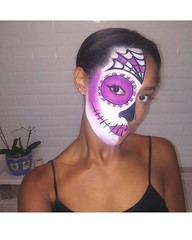 Best Halloween Makeup Ideas (ineedhalloweenideas) Tags: ineedhalloweenideas halloween makeup make up ideas for 2017 happy night before christmas october 31 autumn fall spooky body paint art creepy scary pumpkin boo artist goth gothic