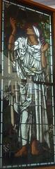 [69079] Birmingham : BM&AG - Elijah in the Wilderness (Budby) Tags: birmingham westmidlands artgallery museum stainedglass window preraphaelite