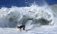 fullsizeoutput_44b1 (supercrans100) Tags: the wedge big waves so calif beaches photography surfing body bodyboarding skim boarding drop knee
