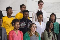12-13-18 Watson Chapel High School Chapel Ensemble_Concert Choir (Arkansas Secretary of State) Tags: 121318 watson chapel high school ensemble concert choir capitol rotunda sounds seasons