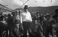 Huancaraylla, Pérou, 1970. Limpieza de la acequia 1 (Elf-8) Tags: peru andes ayacucho huancapi huancaraylla fiesta limpiezadelaacequia men boys tradition history old
