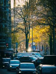Lange Reihe Feierabend (Paul und Lotte) Tags: deutschland norddeutschland hamburg stgeorg hamburgstgeorg langereihe verkehr feierabendverkehr gegenlicht germany traffic rushhour backlight