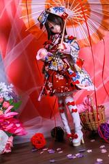 IMG_3813 (kwokt59) Tags: azone azonejp doll 16 pureneemo sahras mode yuzuha lolita dress sewing dollclothes