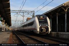 Feliz Navidad!! (Milrayas 269) Tags: tren reailways renfe adif mediadistancia caf mirandadeebro burgos