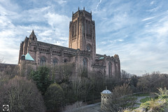 Good from one end to the other. (alundisleyimages@gmail.com) Tags: anglicancathedral liverpool church religion architecture mausoleum williamhuskisson railways tomb tower vast huge sky weather stjamesgardens trees nature cemetary winter season detail clouds gilesgilbertscott georgefrederickbodely frederickthomas biggest longest