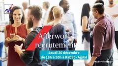 Afterwork Recrutement AXA Services Maroc Jeudi 20 Décembre 2018 (dreamjobma) Tags: 122018 a la une axa services maroc emploi et recrutement banques assurances conseiller clientèle informatique it rabat recrute