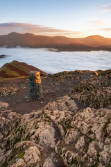 First Light (Rich Walker Photography) Tags: catbells mountain mountains sunrise rock cloudinversion cloud clouds lakedistrict keswick cumbria england landscape landscapes landscapephotography landmark landmarks canon efs1585mmisusm eos eos80d
