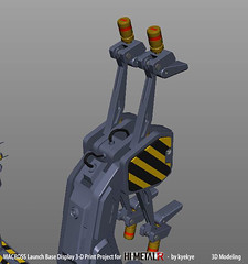 LaunchArmBase_03 (kyewans) Tags: macross himetalr display base launch arm 3d print