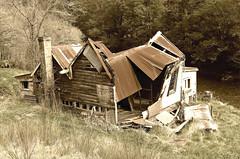 Abandoned (Mary Faith.) Tags: portrait house wreck abandoned building desolation southisland nz