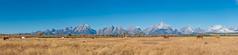 Teton Range panorama (Maciek Lulko) Tags: usa usa2018 teton nationalpark nature landscape nikon nikond750 d750 maciejlulko wyoming grandteton grandtetonnationalpark nps nikkor2470 nikkor landscapes rockymountains west mountains range