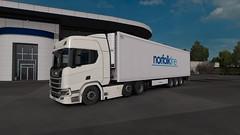ETS2 (Sam TH Millar) Tags: ets2 euro truck simulator norfolk line norfolkline tang scania trucks lorry