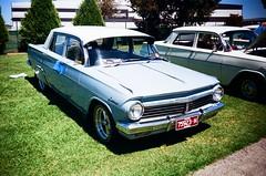 Holden EH Special sedan (Matthew Paul Argall) Tags: kodakstar500af 35mm ektar100 kodakektar100 100isofilm car vehicle automobile transportation classiccar oldcar holden holdeneh 1960scar sedan