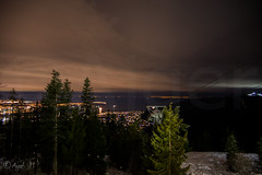 Night View Grouse Mountain (n_ajger) Tags: night view grouse mountain britishcolumbia canada