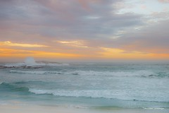 Ocean view... (crispin52) Tags: campsbay capetown ocean sunset seascape waves nikon coth coth5