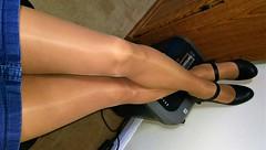 Leggs Sheer Energy Active Support (Terri James) Tags: pantyhose phose legs leggs transvestite tights tv crossdresser crossdress crossdressing cd nylons suntan mantyhose sheer sheerenergy skirt hose dressing heels