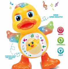 Dancing Duck With Music Flashing Lights (mywowstuff) Tags: gifts gadgets cool family friends funny shopping men women kids home