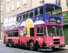 Dublin Bus RA177 (94D177). (Fred Dean Jnr) Tags: dublinbusroute48a dbrook ra177 94d177 hawkinsstreetdublin april1998 wrap nitelink volvo olympian alexander r busathacliath dublin dublinbus alloverad