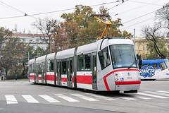 BRN_1914_201811 (Tram Photos) Tags: skoda škoda 13t brno brünn strasenbahn tram tramway tramvaj tramwaj mhd šalina dopravnípodnikměstabrna dpmb
