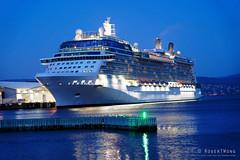 20190128-70-Celebrity Solstice crusise ship (Roger T Wong) Tags: 2019 australia celebritysolstice hobart rogertwong sel24105g sony24105 sonya7iii sonyalpha7iii sonyfe24105mmf4goss sonyilce7m3 tasmania boat cruiseship evening ship waterfront