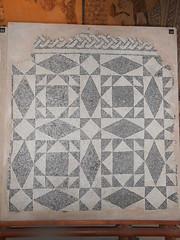 mosaico, bianco e nero, geometrico,  palazzo di Teodorico, Ravenna (Pivari.com) Tags: mosaico biancoenero geometrico palazzoditeodorico ravenna